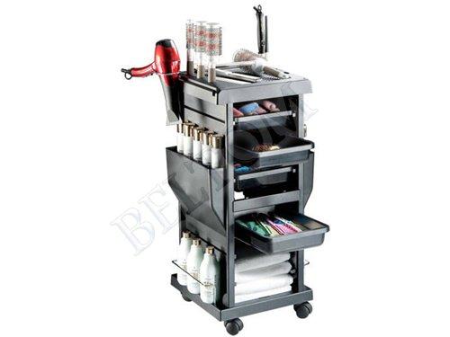Salón De Peluquería Barbero Cabello Belleza Carro Carrito cajones para Colorear - 4: Amazon.es: Hogar