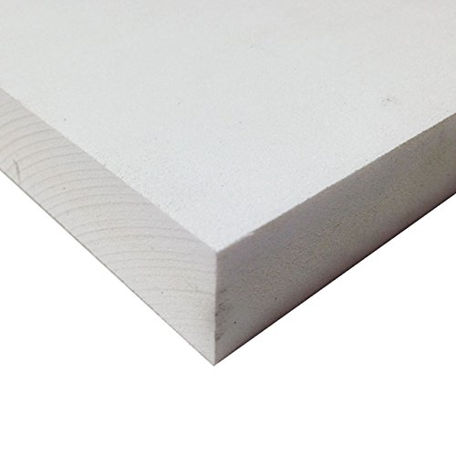 PVC Foam Board Sheet (Celtec) - White - 12 IN x 24 IN x 6 MM (Sintra Pvc Foam Board)