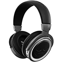 Ghostek Cannon Wireless Bluetooth Headphones | Enhanced Open-Back Design | Premium Over-Ear Comfort | Black