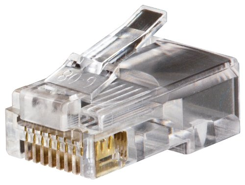 Modular Plug 8P8C Rj45 Cat5E 50 Pack by Klein Tools