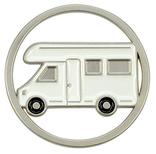 41GN%2BAMn2IL Schlüsselanhänger mit Einkaufswagenchip Camper