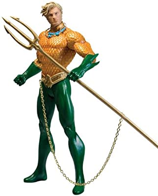 Amazon Com Dc Direct Justice League Aquaman Action Figure Toys Games