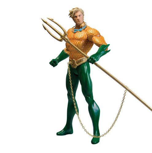DC Direct Justice League: Aquaman Action Figure - Zoom Dc Costume