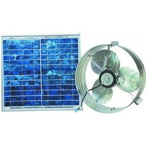 Solar Gable Vent with Panel CXSOLGB