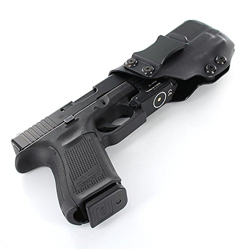 IWB Holster - Olight PL Mini - Black (Left-Hand, Walther Creed)