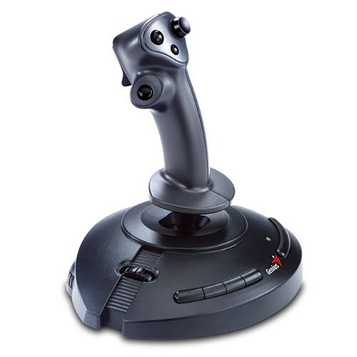Genius MaxFighter F-23U V2.  PC Joystick with Digital technology to enhance precision, speed and control.