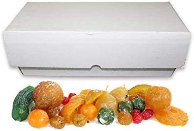 Fruta glaseada/escarchada a granel - En cajones de 5 kg surtida: Amazon.es: Alimentación y bebidas