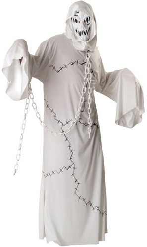 Rubie's Costume Cool Ghoul Costume, White, (Cool And Scary Halloween Costumes)