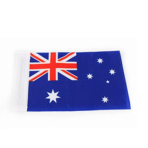 (Motorcycle Flag Australia 5.5 X 9 Inches with 1/2