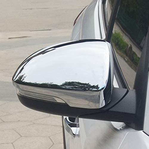 For Hyundai Tucson TL 2016 2017 2018 New Chrome Rearview Side Wing Mirror Cover