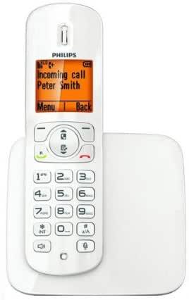 Philips Teléfono DECT CD2801 W/FR – blanco + Amplificador de alcance Gigaset Repeater.: Amazon.es: Electrónica