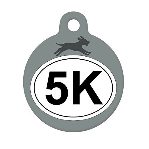 5K Run Dog Pet Tag, Dog Tag, Cat Tag, Child ID Tag, Luggage Tag, Gift for - America Mall Luggage Of