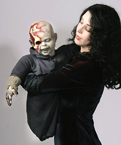 [Costumes For All Occasions Ta309 Zombie Zack Latex Puppet] (Zombie Baby Halloween Prop)