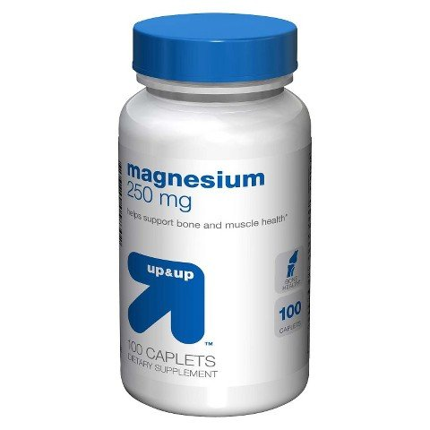 up&up Magnesium 250 mg Caplets - 100 - Caplets 250 Magnesium Mg