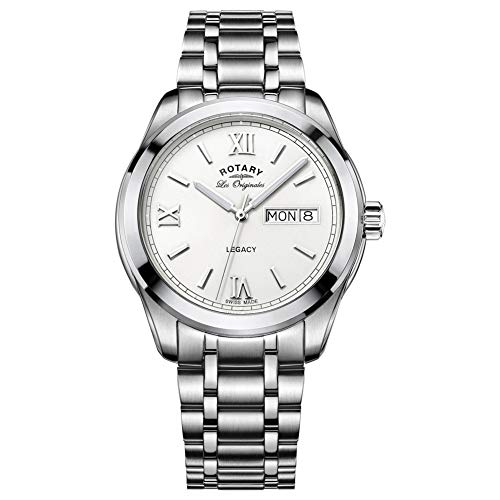 Rotary Gents Swiss Made Legacy Day Date Watch GB90173/01