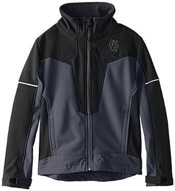 Urban Republic Big Boys' Big Boy 2177 Soft Shell Jacket, Charcoal, 14/16