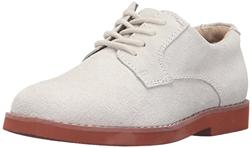 Florsheim Kids Kearny JR Oxford (Toddler/Little Kid/Big Kid),White Buck,5 M US Big ()