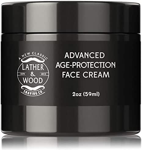 Advanced Mens Face Moisturizer Cream - Look Polished, Feel Great - Anti Aging Treatment Top Defense Against Dry, Rough or Damaged Skin, Fine Lines and Wrinkles, 2 oz