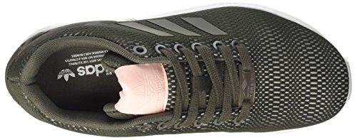 adidas Zx Flux, Zapatillas para Mujer Verde (Utigre/utigre/ftwwht)