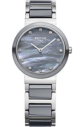 BERING Ceramic Collection Quartz Gray Women's Watch 10725-789