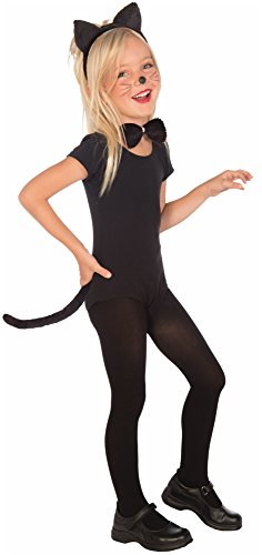 Plush Kitty Cat Child Costume Kit (Kitten In Costume)