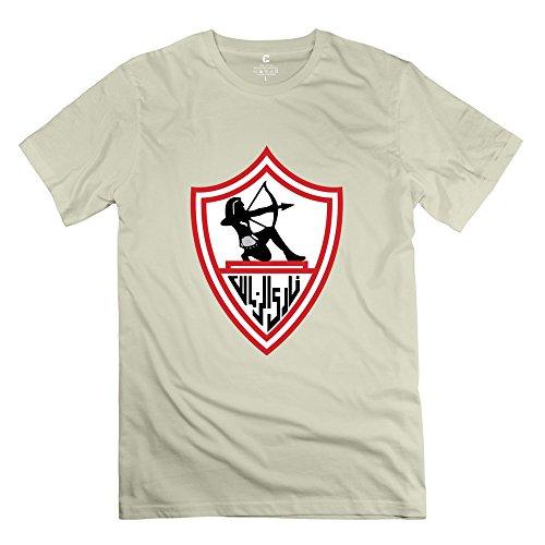 Womind Men's Zamalek T-Shirt L Natural