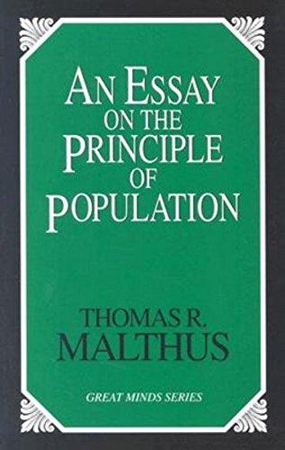 An essay on the principle of population thomas robert