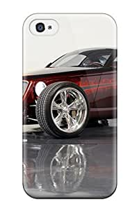 Hot Hot Rod First Grade Tpu Phone Case For Iphone 4/4s Case Cover