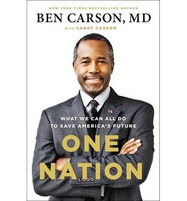 Ben Carson One Nation (Hardback) - Common