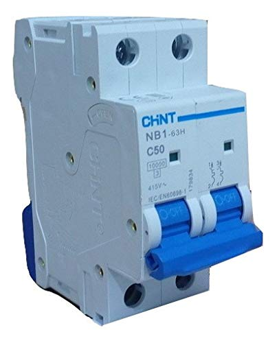 CHINT 230V 2P 50A AC MCB (Miniature Circuit Breaker) for