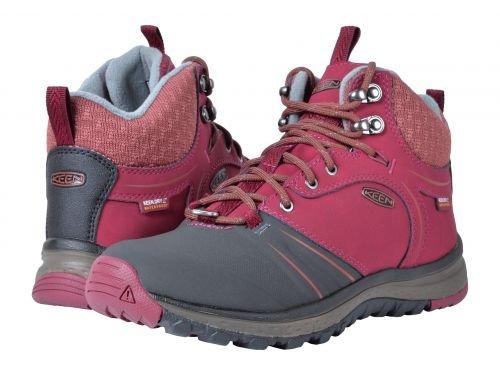 Keen(キーン) レディース 女性用 シューズ 靴 ブーツ ハイキングブーツ Terradora Wintershell - Rhododendron/Marsala [並行輸入品]