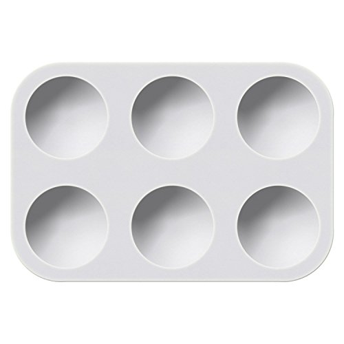 Generic 6-Well White Plastic Palette by Generic