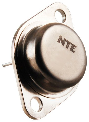 NTE Electronics NTE121MP PNP Germanium Transistor for Audio Frequency Power Amplifier, to-3 Case, 10A Collector Current, 60V Collector-Base Voltage, Matched Pair