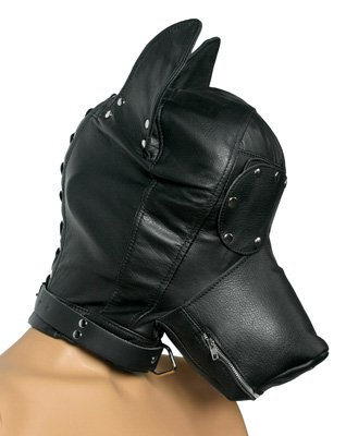 Strict Leather Ultimate Leather Dog Hood