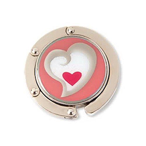 Finders Key Purse Heart in Heart 'Hang'em High' Purse Hanger