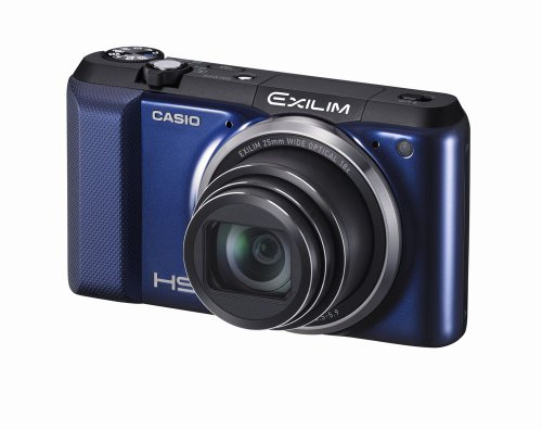 Zoom digital camera CASIO EXILIM EXZR850BE 16.1M pixels Wi-Fi featured interval shooting 18x optical EXZR850 Blue