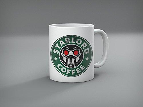 Guardians of the Galaxy Vol.2 Star Lord Coffee Logo Mug - Star Lord Funny Mug 11oz By Miracle
