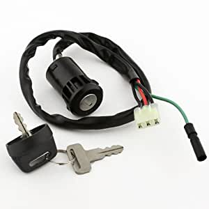 02 honda 400ex ignition wiring diagram: amazon com: caltric ignition switch  fits honda