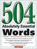 504 Absolutely Essential Words 5th (fifth) edition Text Only