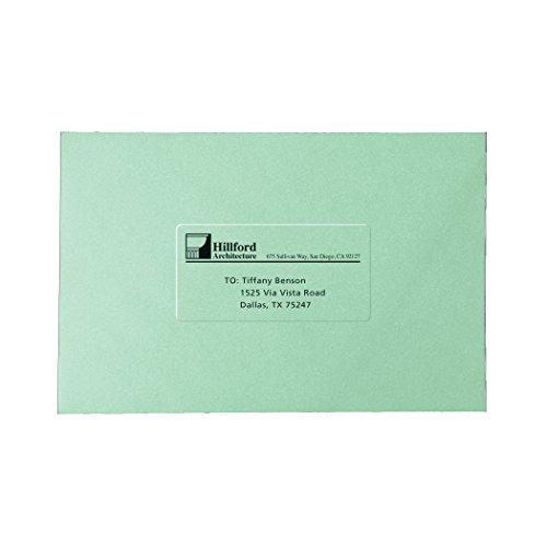 cheap avery clear easy peel return address labels 1 2 x 1 3 4
