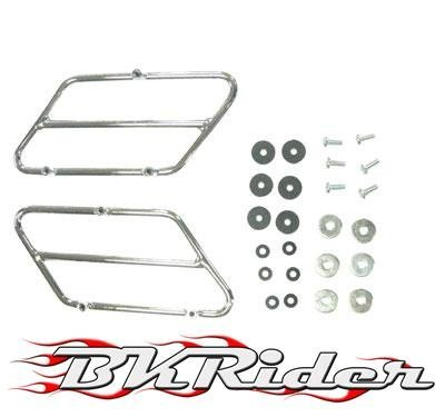 BKRider SIDE COVER TRIM RAILS HARLEY FLH & FLT 93+ REPLACES(66064-93) Generic