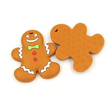 Mordedor galleta jengibre navidad: Amazon.es: Bebé