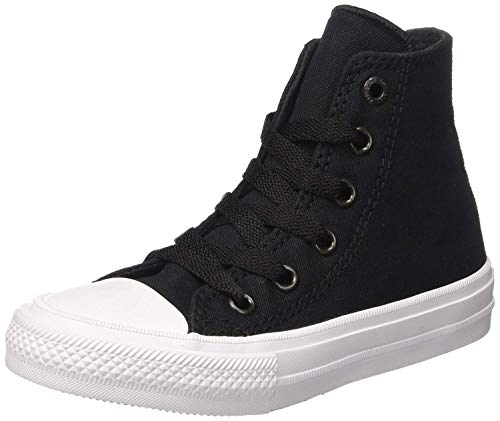- Converse Little Boys Chuck Taylor All Star Ii Kids High Top Trainers Black Size 33