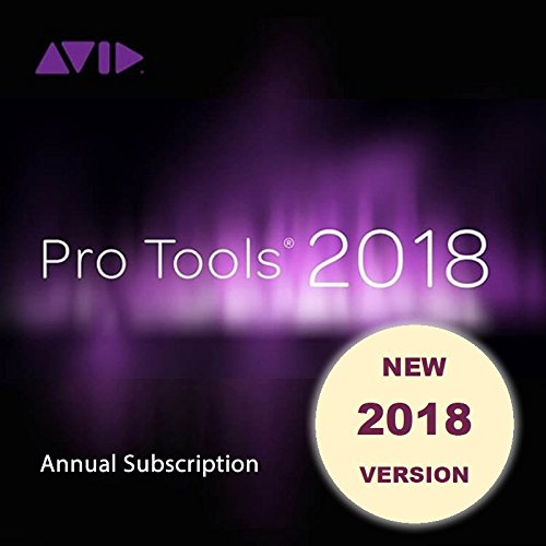Avid Pro Tools 2018 Annual Subscription  Download Card   Ilok