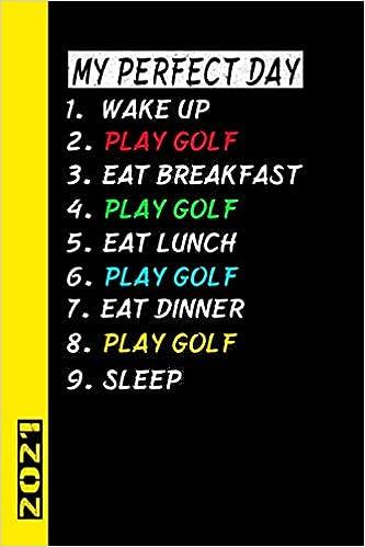 My Perfect Day Play Golf 2021: Français! Mon calendrier pour le