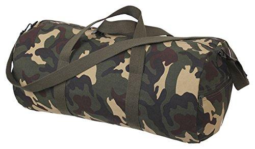 woodland camo Duffle Bag–Leinwand Rothco Schulter wq6POTAan