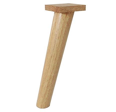 AZWE Patas de muebles, patas de sofá de madera 1 juegos de ...