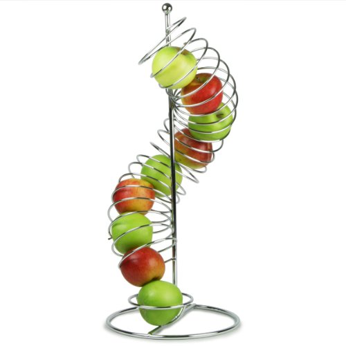 TableCraft Products FSP1507 Spiral Fruit Basket, 18.5