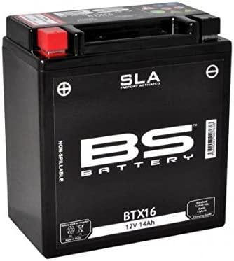 ytx16bs ytx16-bs Batterie bs btx16 sla activ/ée usine Bs 321074