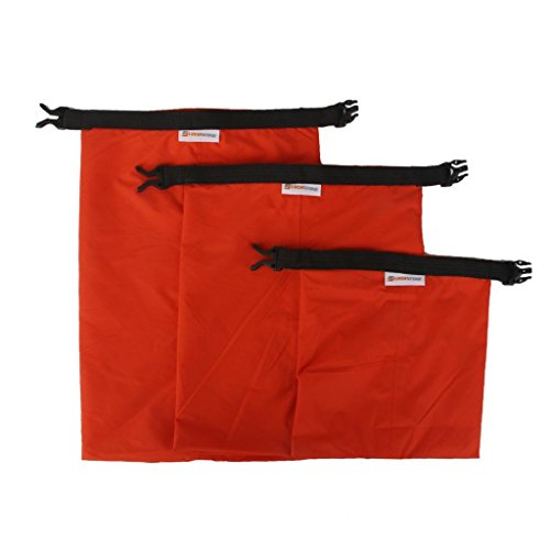 FidgetFidget Kayak Orange Set of 3Pcs Waterproof Dry Bag for Camping Canoeing Rafting by FidgetFidget (Image #5)